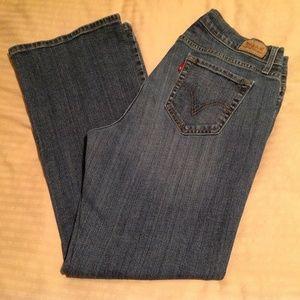 Levi's Woman's 529 Curvy Boot Cut Size 32x30 12